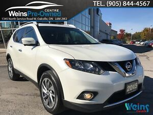 2015 Nissan Rogue SL| 360 CAMERA| NAVI| LEATHER| PANO SUNROOF