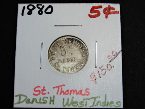 Danish West Indies, St. Thomas - 1880
