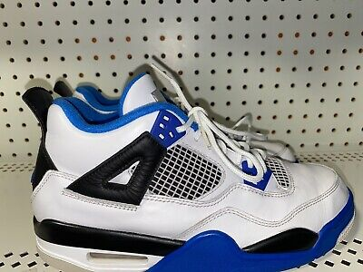 Nike Air Jordan Retro 4 Motorsport Boys Youth Basketball Shoes Size 7Y
