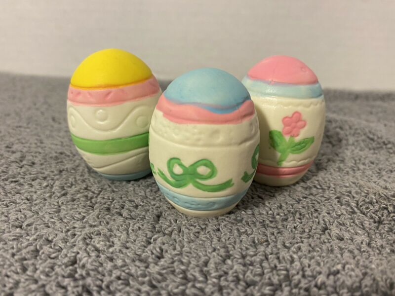 Porcelain Easter Eggs, No Chips.   Flawless