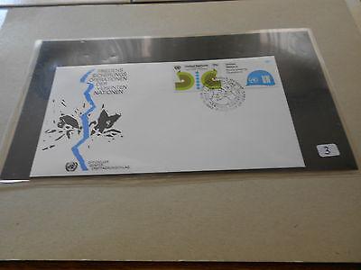 Briefmarken UNO Marken auf FDC New York Privatverkauf