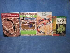 Books about Snakes $3 lot Hamersley Stirling Area Preview
