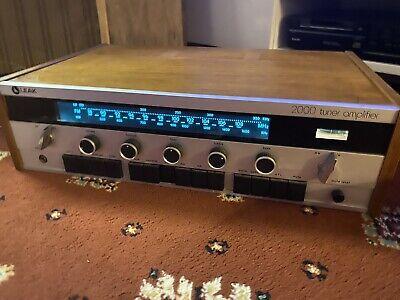Leak 2000 Amplifier WORKING  Vintage 1970s HiFi FM Stereo Tuner Amp