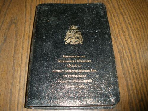 Freemasons of Williamsport PA Holy Bible Temple Illustrated Edition