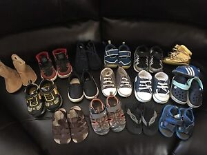 Lot of Boys Shoes & Jackets