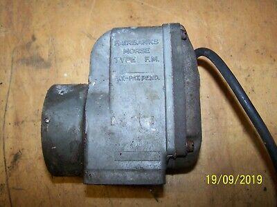 Fairbanks Morse Type J Single Cylinder Magneto Antique Hit Miss Engine Untested
