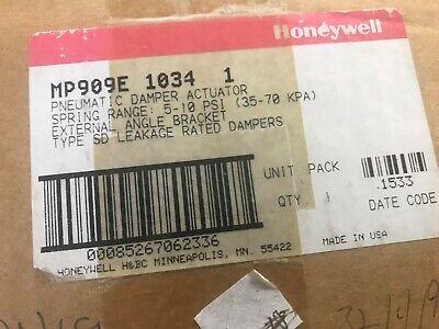 Honeywell Mp909e1034 1 Pneumatic Damper Actuator New