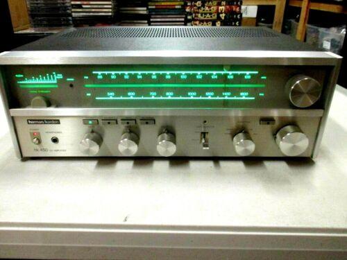 HARMAN KARDON HK450 RECEIVER-SOUNDS AND LOOKS EXCELLENT