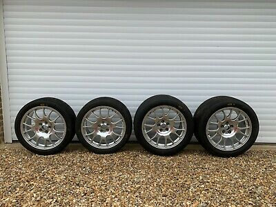 (4) FERRARI 360 Challenge / Stradale BBS wheels RE480 RE481 8J x 18 and 10.5 x18