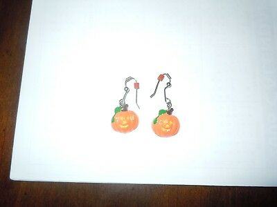 Pumpkin Halloween Dangling Earrings - Halloween Earrings