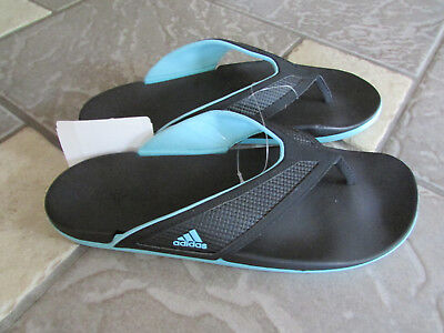 NEW ADIDAS ADILETTE FLIP FLOP SANDALS WOMENS 10 SLIDE SANDALS