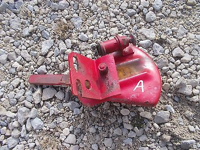 Farmall A Sa Tractor Ih Throttle Control Lever Saw Tooth Mount Switch Bracket