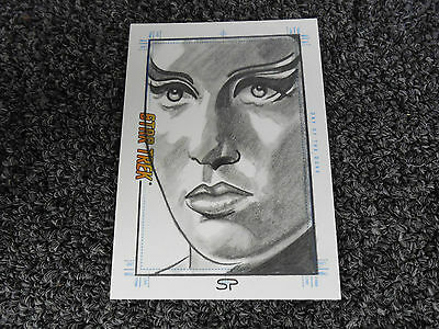Star Trek TOS Portfolio Prints Sketch - Sean Pence - Day of the