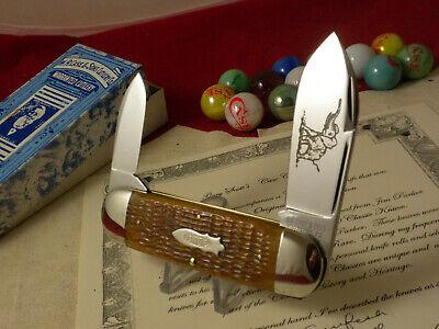 CASE CLASSIC 62050 SS SUNFISH / ELEPHANT TOE KNIFE 1 OF 12 GARY SCOTT COL.