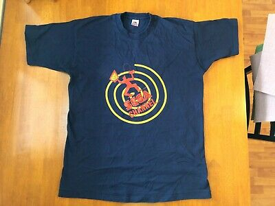 RARE Vintage SEGA Channel 1994 T-Shirt Size XL Navy Sonic Genesis Master System