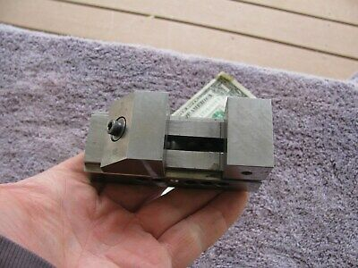 1 12 Capacity Small Toolmaker Grinding Vise 78 Deep 1 12 Wide Jaws  Tool