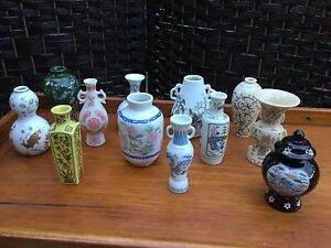 Vintage Collection Vases Dynasties Chinoises Franklin Mint 1980