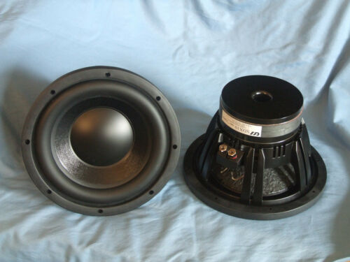 "Pair (2) CSS XBL^2  SDX10 10"" 4 Ohm Subwoofer–Nice!"
