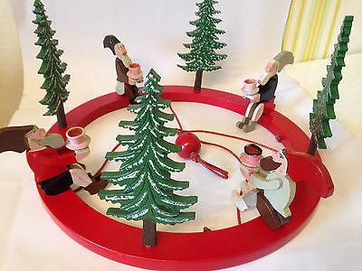 Alter Adventsleuchter,Weihnachtskranz,Adventskranz,Leuchter,Spinne z.aufhängen