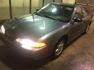 Grey Oldsmobile alero