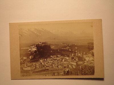 Salzburg - alte Ansicht / CDV