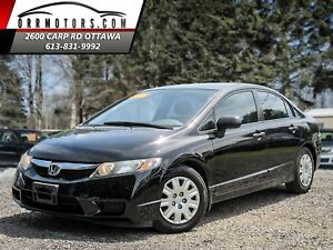 2009 Honda Civic DX Sedan 5-Speed MT
