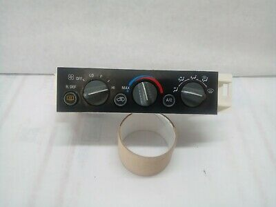 OEM 1996-99 Chevrolet Silverado Tahoe AC Climate Control Switches | 09378805