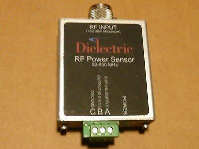 Dielectric Rf Power Sensor 50-850 Mhz 30 Dbm