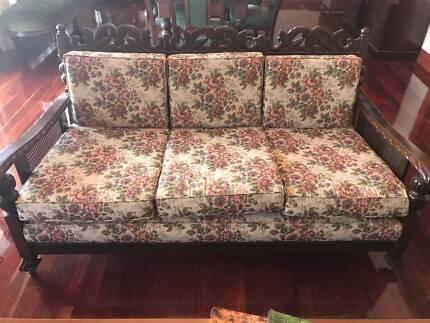 Antique Jacobean Three Piece Lounge