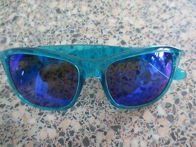 Dot Dash green frame mirror sunglasses. (Dot Dash Sunglasses)