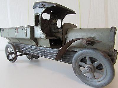 Original Militär LKW mit Fahrer um 1910 Uhrwerk läuft 1 WK Bing ?
