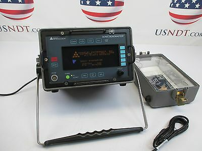 Staveley Sonic Bondmaster Bondtester Ndt Flaw Thickness Eddy Current Olympus Ge