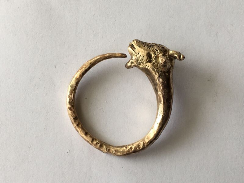 Thrace Gold Artifact- Very Rare IT IS NOT RING