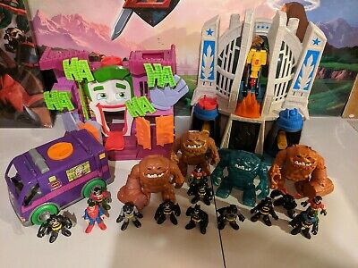 DC Imaginext Huge Lot Clay Face Army