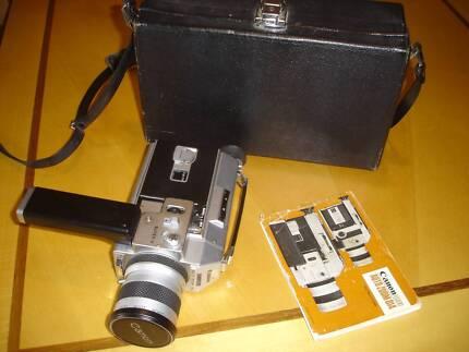 Vintage Canon Auto zoom 814 Super 8  - movie camera