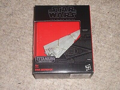 STAR WARS The Black Series STAR DESTROYER Die Cast model 24 TITANIUM 2015 NEW