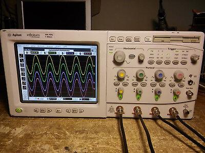 Hp Agilent 54815a 54825a 500mhz 2gss Oscilloscope