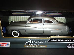Motormax Mercury Coupe 1949 Grey 1/24
