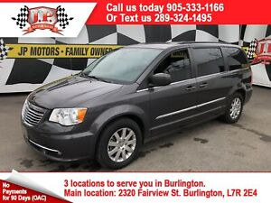 2015 Chrysler Town & Country Touring, 3rd Row Seating, Rear DVD,