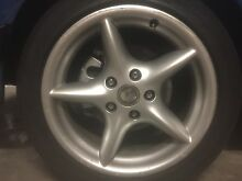 "X4 HSV 17"" rims with roadworthy tyres Keilor Brimbank Area Preview"