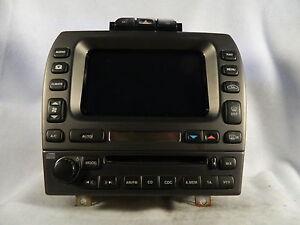 2004 2008 jaguar x type navigation display unit 1x43 10e889 fb ebay. Black Bedroom Furniture Sets. Home Design Ideas