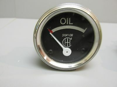 Oil Pressure Gauge For Farmall Ih A B F12 F14 F20 F30 31041 Db 0-75 Psi