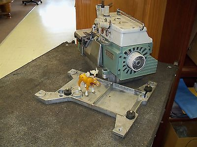 Overlock Sewing Machine Willcox & Gibbs Serger 3 thread 504 E256-130AK Head Only