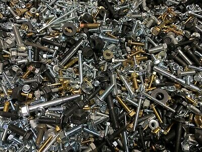 15 30 Or 45 Lbs Assorted Hex Bolts Screws Flange Nuts Pins Washers More