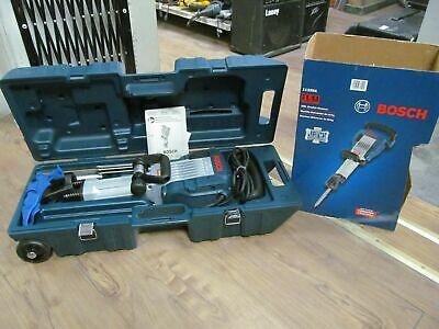 Bosch Demolition Hammer Kit Impact 34 Ftlb Model 11335k With Hard Rolling Case