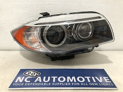 2011 2012 2013 BMW 1 Series 135i 128i Headlight Right RH Xenon HID OEM B17