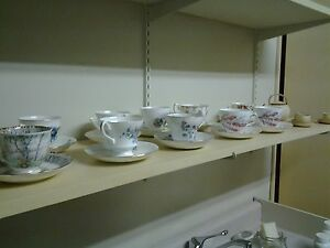 VINTAGE TEACUPS, ONE PRICE TAKES ALL