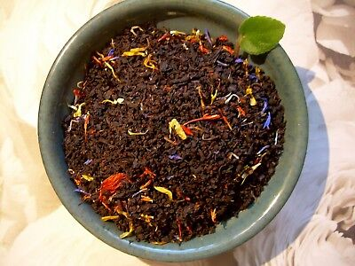 Tea Gold Rush Passion Fruit & Florals Blend Loose Leaf Premium Aged Black Tea