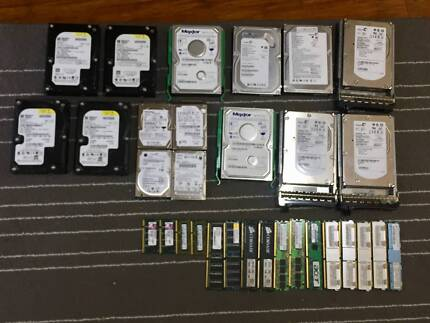 Working Hard Drives and Memory