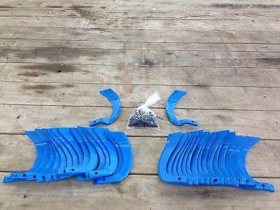 IGQN rotary tiller tines or blades for tractor tiller 10 mm bolt hole